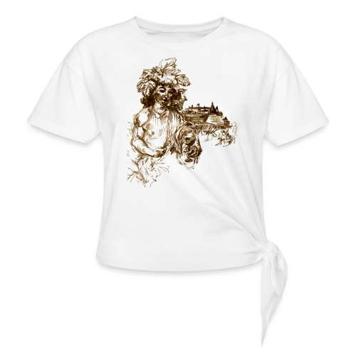 Bacchus 010 - Frauen Knotenshirt