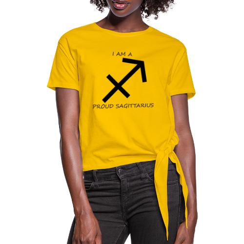SAGITTARIUS - Knotted T-Shirt