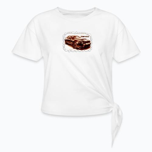 voiture - T-shirt à nœud Femme