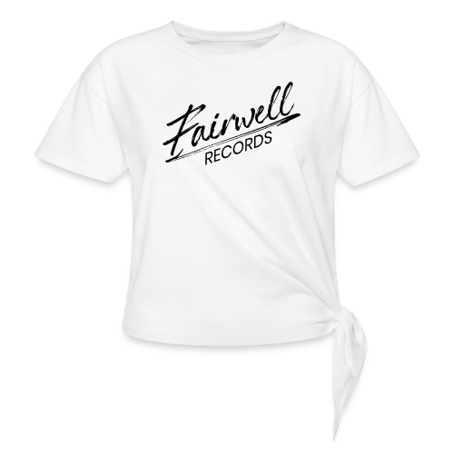 Fairwell Records - Black Collection - Knot-shirt