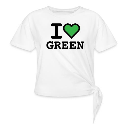 i-love-green-2.png - Maglietta annodata