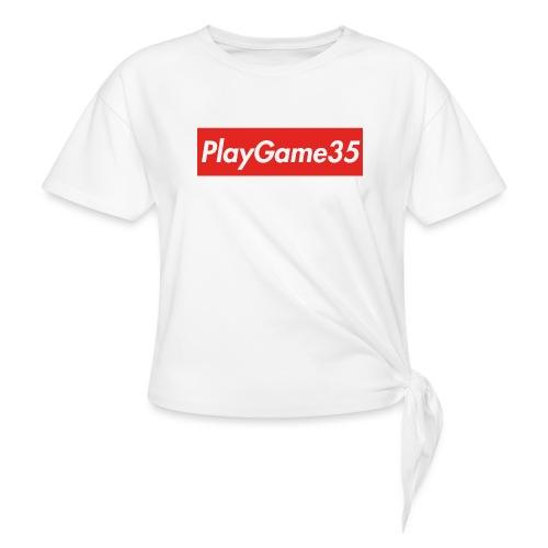 PlayGame35 - Maglietta annodata