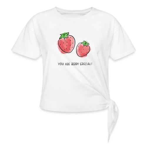 Fruit Puns n°1 Berry Special - Frauen Knotenshirt