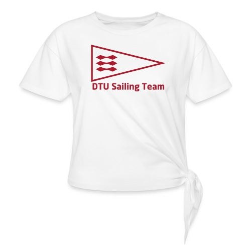 DTU Sailing Team Official Workout Weare - Women's Knotted T-Shirt
