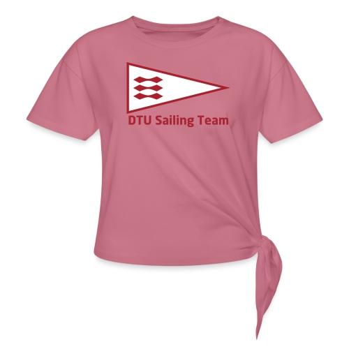 DTU Sailing Team Official Workout Weare - Women's Knotted T-Shirt