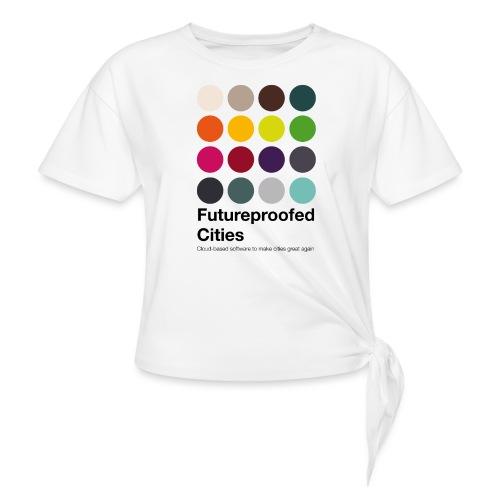 FutureproofedCities - T-shirt à nœud Femme