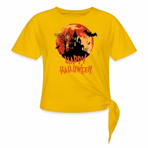 Bloodmoon Haunted House Halloween Design - Knotenshirt