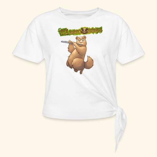 Tshirt Flute devant 2 - T-shirt à nœud