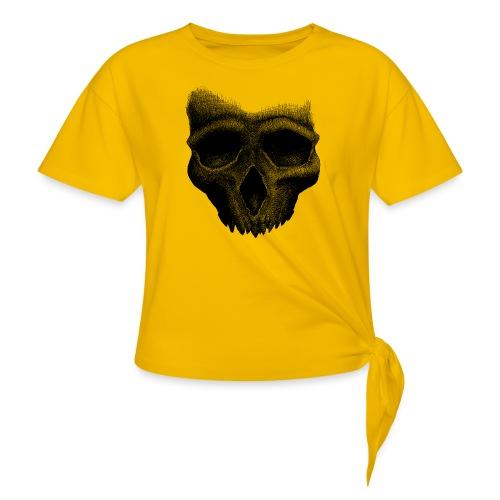 Simple Skull - T-shirt à nœud