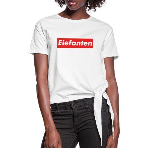Supremium Elefant - Dame knot-shirt