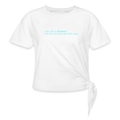 dreamers - Frauen Knotenshirt