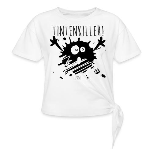 inky+sketch_005 - Frauen Knotenshirt