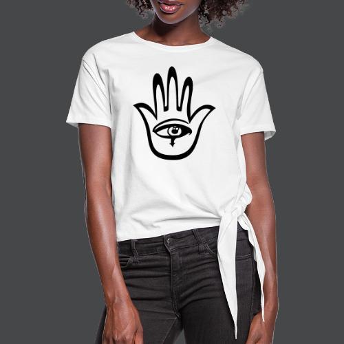 hamsa - Knotenshirt