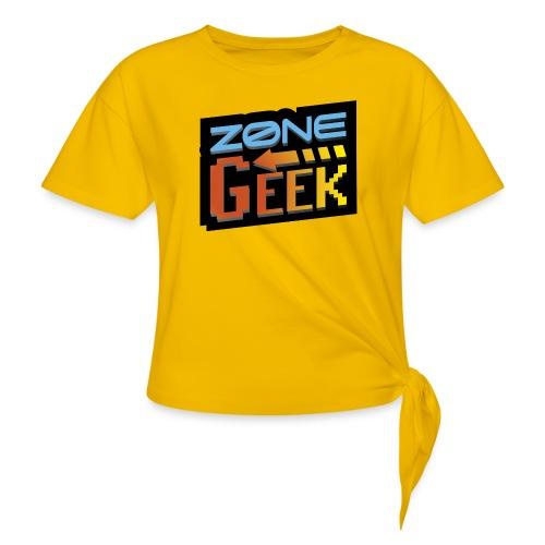 NEW Logo T-Shirt Femme - T-shirt à nœud Femme