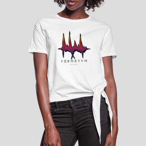 VERMETUM BLACK EDITION - Frauen Knotenshirt
