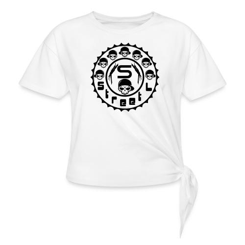 rawstyles rap hip hop logo money design by mrv - Koszulka z wiązaniem