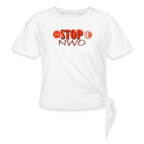 STOPNWO1 - Koszulka damska z wiązaniem