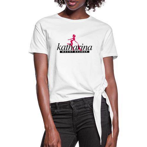 katharina - Frauen Knotenshirt