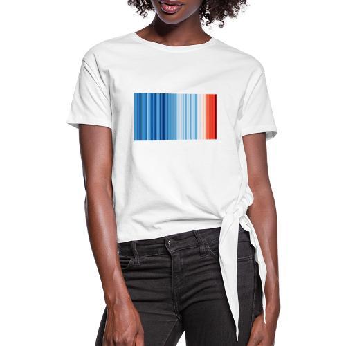 Klimawandel - Frauen Knotenshirt