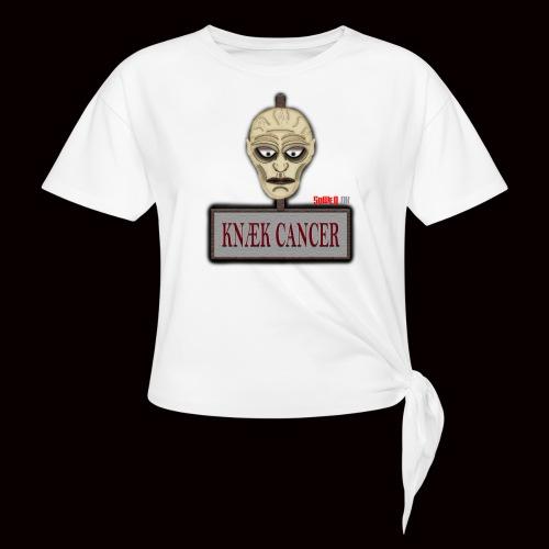 Knæk Cancer Kollektion ! - Dame knot-shirt