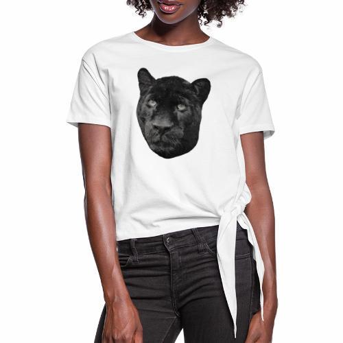 Schwarzer Panther - Knotenshirt