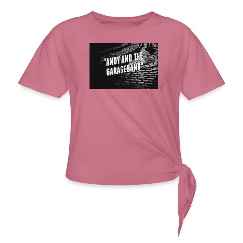 Black and White - Knute-T-skjorte for kvinner