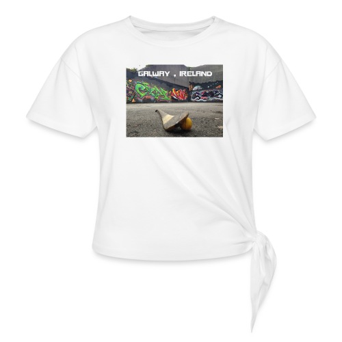 GALWAY IRELAND BARNA - Women's Knotted T-Shirt