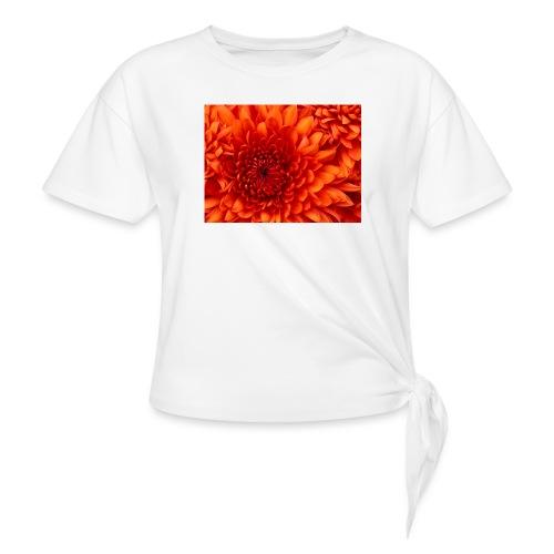 Chrysanthemum - Vrouwen Geknoopt shirt