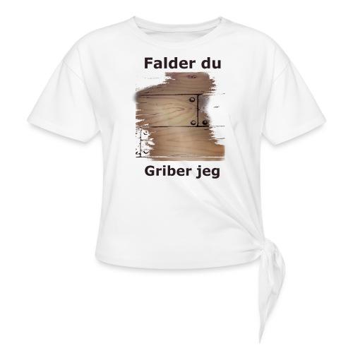 Gulvet Griber - Dame knot-shirt