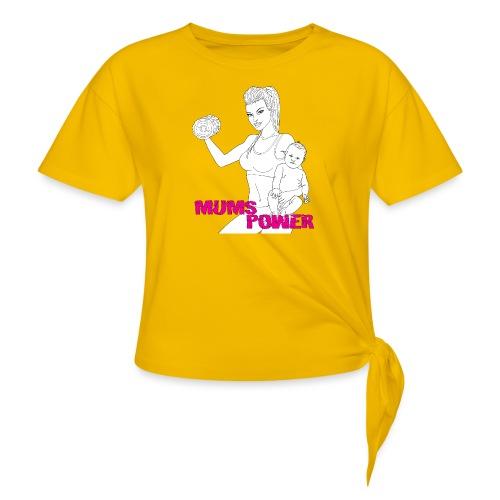 MUMS POWER - Camiseta con nudo