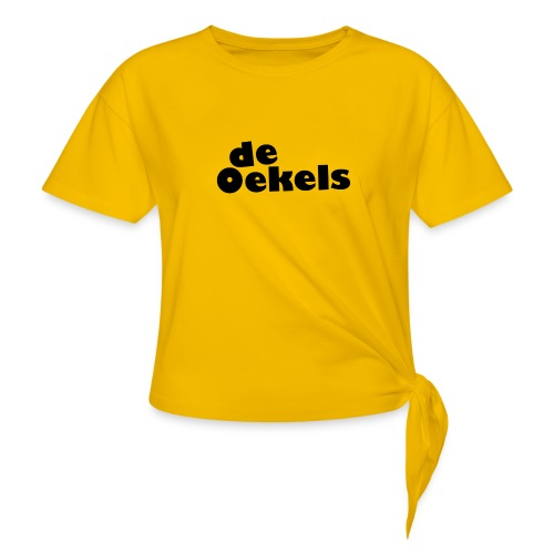 DeOekels t-shirt - Vrouwen Geknoopt shirt