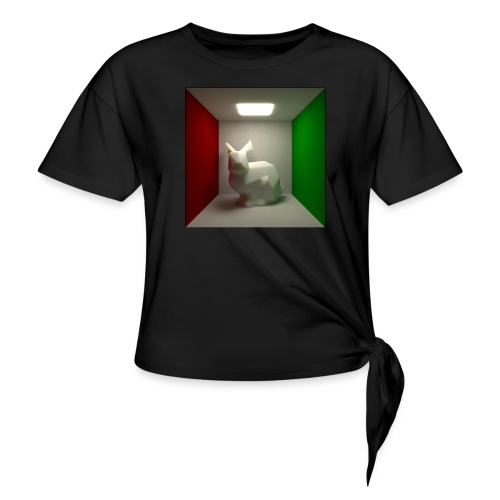 Bunny in a Box - Knotted T-Shirt
