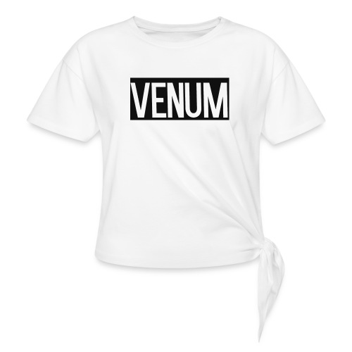 VENUM ORIGINAL WHITE EDITION. - Women's Knotted T-Shirt