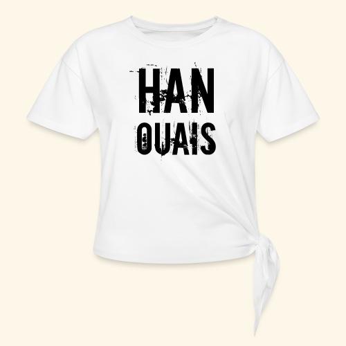 Han ouais basic tribunal charleroi - T-shirt à nœud Femme