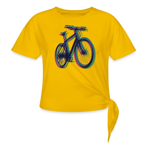 Bike Fahrrad bicycle Outdoor Fun Mountainbike - Knotted T-Shirt