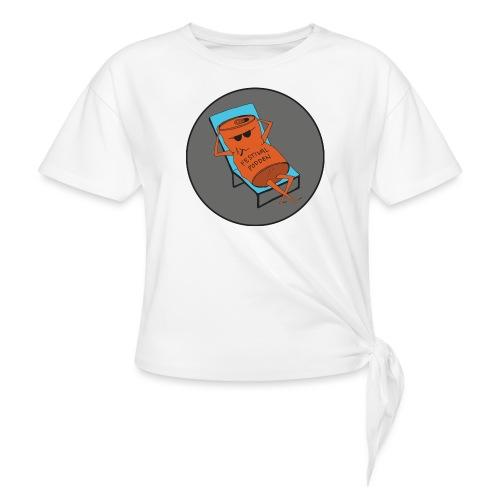 Festivalpodden - Loggan - T-shirt med knut dam
