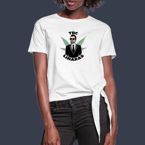 Classic THC - Women's Knotted T-Shirt