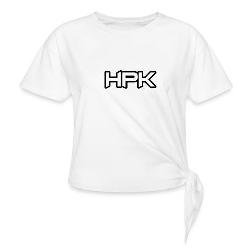 Het play kanaal logo - Vrouwen Geknoopt shirt
