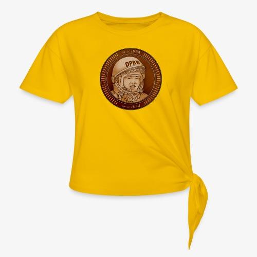 KIM Token - T-shirt à nœud Femme