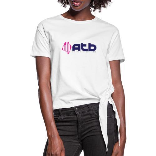 radio logo 2 - Women's Knotted T-Shirt