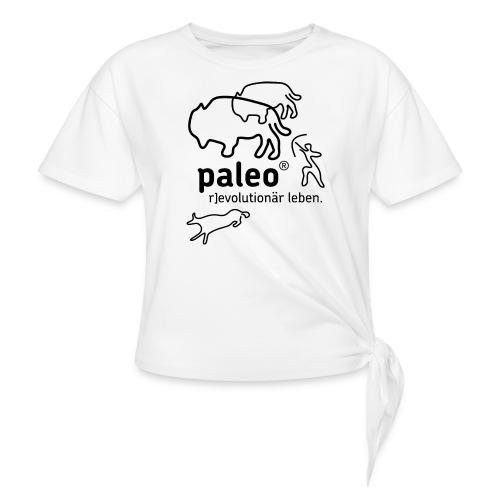 Paleo r evolutionär Illu - Knotenshirt