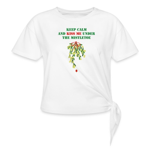 Under the mistletoe - Knotenshirt