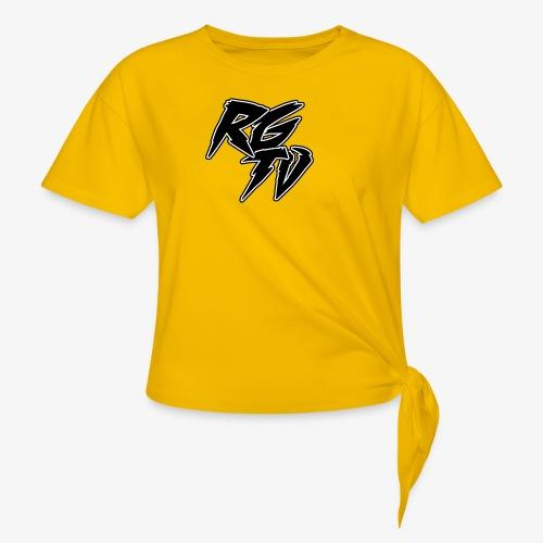 RGTV LOGO - Knotted T-Shirt