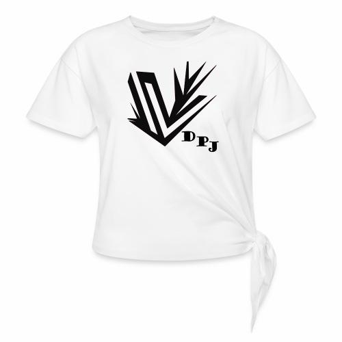 dpj - T-shirt à nœud