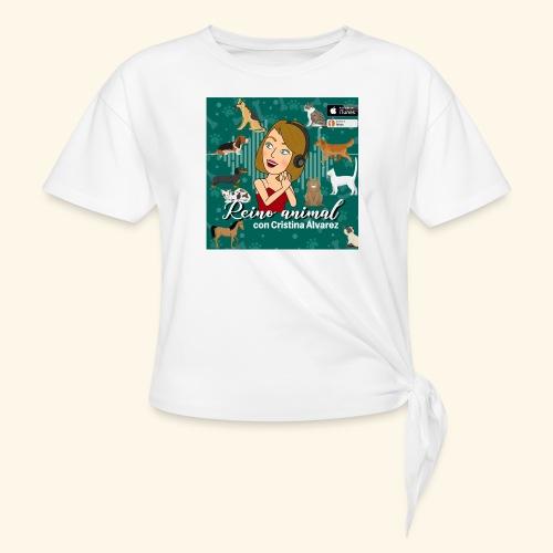 reino animal 01 - Camiseta con nudo
