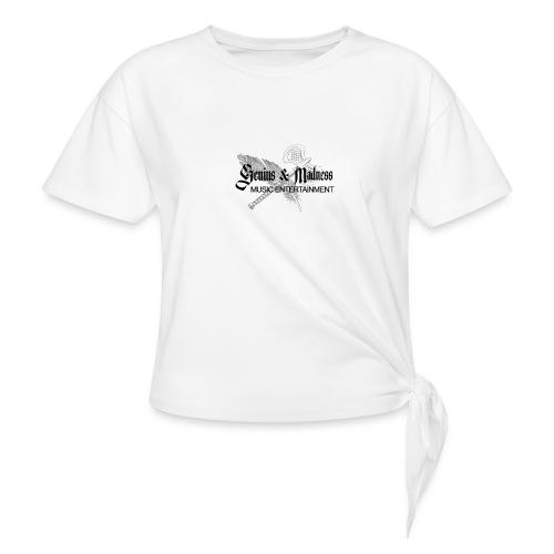 Genius and Madness White Edition - Frauen Knotenshirt
