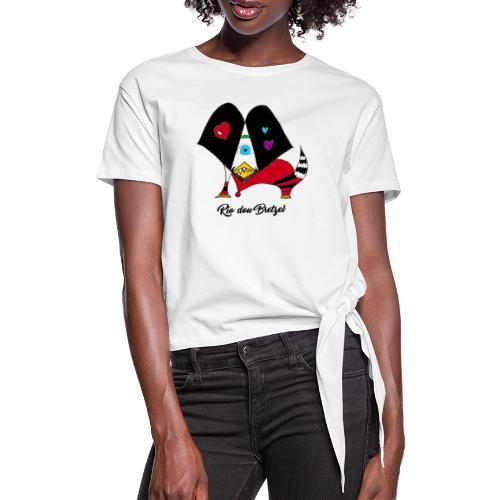 Rio dou Bretzel - T-shirt à nœud Femme
