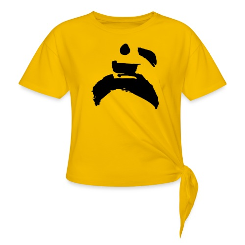 kung fu - Women's Knotted T-Shirt