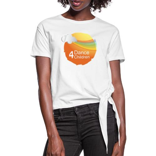 Dance4Children Logo - Vrouwen Geknoopt shirt