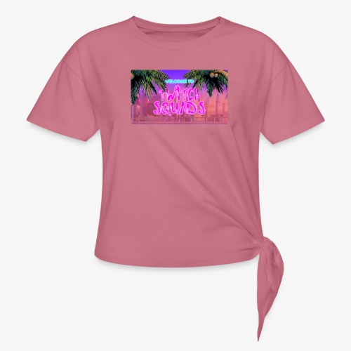 Welcome To Twitch Squads - Knotted T-Shirt
